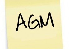 AGM Notice: Election of Chairperson and Treasurer
